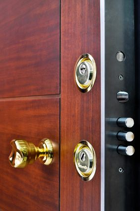 Sicherung der Haustür